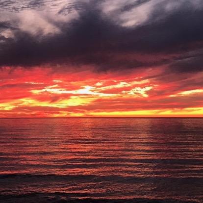 Bold Sunset